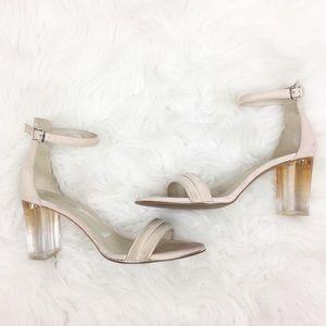 Kenneth Cole | Blush Transparent Heels
